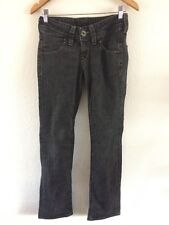 "Lee Men's Jeans 27"" Waist 33"" Leg Charcoal Black  R9212"