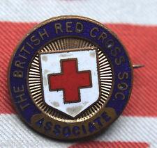 British Red Cross Soc Associate Pin Badge Maker Gaunt