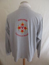 Polo de rugby vintage Stade Toulousain Gris Taille XL