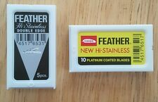 Feather Duo (8) Double Edge Safety Razor Blades