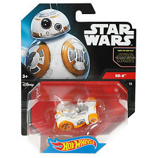 Mattel Hot Wheels Star Wars 1:64 Scale Diecast BB-8 Droid Character Car (CGW51)