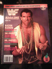 WWF WWE Wrestling Magazine MARCH 1993 Razor Ramon Cover