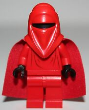 LeGo Star Wars Royal Guard Minifig w/ Black Hands Red Cape NEW