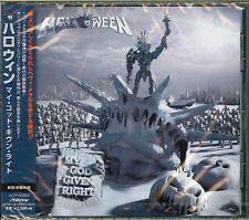 HELLOWEEN-MY GOD-GIVEN RIGHT-JAPAN CD F56