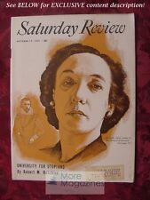Saturday Review October 17 1953 MARCHETTE CHUTE ROBERT M. HUTCHINS