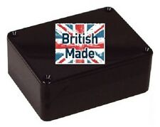 ABS BLACK PLASTIC ELECTRONICS PROJECT BOX ENCLOSURE 100 X 76 X 41MM