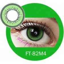 Lentille de couleur vert 2 tons FT82M4 -  green color contact lenses