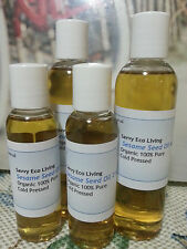 Organic 100% Pure  Sesame Seed Oil Organic Cold Pressed 2oz....