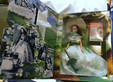 HOLLYWOOD LEGENDS COLLECTION GONE WITH THE WIND BARBIE DOLL GREEN DRESS
