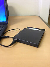 USB 2.0 External DVD Combo CD-RW Burner Drive CD±RW DVD ROM Black for Laptop PC