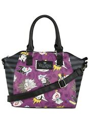 Disney Villains Loungefly Satchel Hand Bag Purse New With Tags!