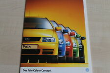 161496) VW Polo 6N Colour Concept Prospekt Mappe 07/1996