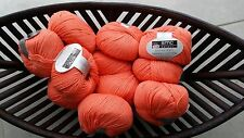 600g wolle Cotton Merino Select Gedifra Schachenmayr Orange Babywolle NATUR