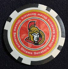 LUCKY OTTAWA SENATORS POKER CHIP