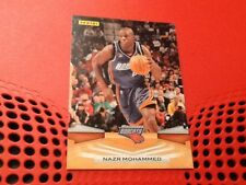 #120 Nazr Mohammed / Charlotte Bobcats / Panini 2009 trade card / NBA basketball