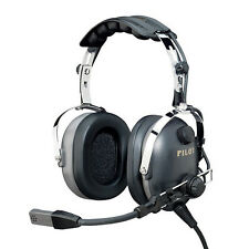 New PilotUSA PA-1161H Aviation Helicopter Pilot PNR Headset