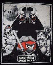 STAR WARS - ANGRY BIRDS - Men's size (fits like) M - Graphic T-Shirt