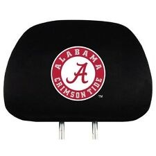 ALABAMA CRIMSON TIDE CAR AUTO 2 TEAM HEADREST COVERS NCAA
