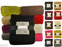 Luxury Panache Soft Touch Sofa Bed Throw Blanket, Jumbo Size Cuddly Throws
