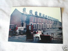 IRISH REPUBLICAN IMAGE OF BOMBAY ST AFTER HOUSES BURNT BY LOYALISTS POSTCARD