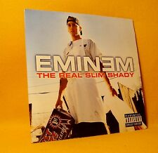 Cardsleeve Single CD Eminem The Real Slim Shady 2TR 2000 Hip Hop Rap