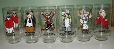 Coca-cola & King Features Syndicated Inc.Present a Vintage 1975 Popeye Glass Set
