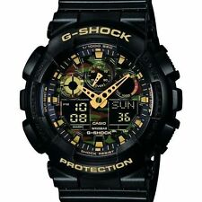CASIO G-SHOCK **GA-100CF-1A9ER** Camouflage Tactical Military Men's Watch BNIB