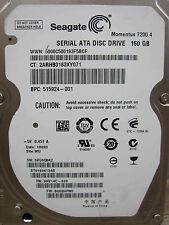 160 GB Seagate ST9160412AS | P/N 9HV14C-620 | B003HPM1 | WU | harde schijf