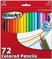 RoseArt Colored Pencils 72-Count Assorted Colors Packaging May Vary (CYM79) XTS