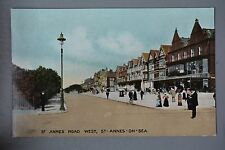 R&L Postcard: St Annes Road West, St Annes-on-Sea, Boots the Chemist