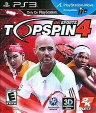 Top Spin 4 - Playstation 3, Very Good PlayStation 3, Playstation 3 Video Games