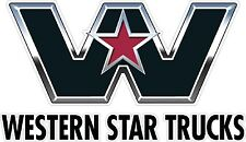 Western Star Truck Decal Pair Semi, Trailer, Wall Art Window Car High Quality!!