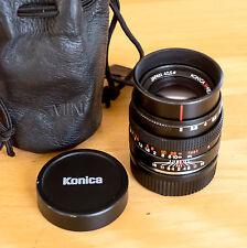 Konica M-Hexanon 50mm F/2,0 - Konica-Summicron für Leica M und Systemkameras