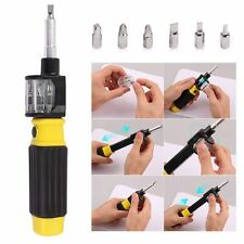 360 Bit 6-in-1 Twist Flexible Screwdriver Precision Repair Hand Tools Screw Set
