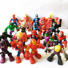 "Playskool Heroes - Random 10pcs Marvel Super Hero Adventures 2.5"" Figure Boy Toy"