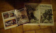 La Guerre au Transvaal des Boers Magazine A la une et Fac similés Journaux 1899