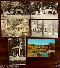 6 Postcards New England Fellowship Conference Grounds Rumney Depot NH Girls Camp