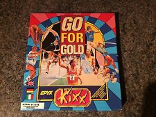 Go For Gold Atari St Game! Complete! Look At My Other Games!