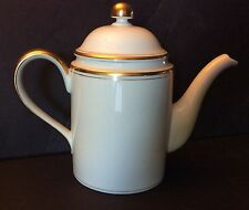 FITZ AND FLOYD PALAIS BUFF COFFEE POT - 1977