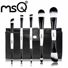 Double End Make Up Brush Set | Professional Foundation Makeup Brushes with Pouch