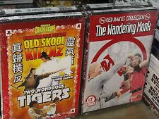 Two Wondrous Tigers / The Wandering Monk (2-DVDS) John Cheung, Choi Wang, NEW!