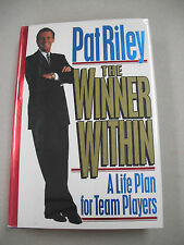 """SIGNED 1ST ED """"THE WINNER WITHIN"""" BY PAT RILEY! STAR LAKER`S PLAYER & MANAGER!"""