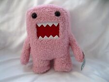"Licensed Japanese Domo-Kun 6""-6 1/4"" Soft Pink Plush Doll-Brand New with Tags!!"