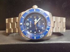 Deep Blue Juggernaut III 3 Automatic Diver Watch Rare