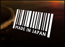 MADE IN Japan JDM Decal vinyl sticker, Mazda Nissan Mitsubishi Toyota Honda