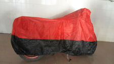 Sport Bike Dual-sport Motorcycle Cover UV Protection Red Black L Size