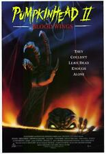 "PUMPKIN HEAD 2: BLOOD WINGS  Movie Poster [Licensed-NEW-USA] 27x40"" Theater Size"