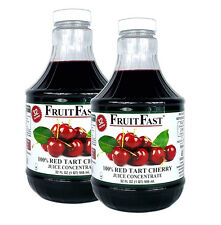 """Premium Tart Cherry Juice Concentrate """"COLD FILLED"""" 2 Quarts - 64 Day Supply"""