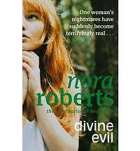 Nora Roberts Divine Evil Very Good Book