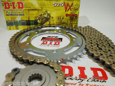 KTM 950 LC8 '03-06 ADVENTURE DID 525 GOLD X-RING PREMIUM CHAIN AND SPROCKETS KIT